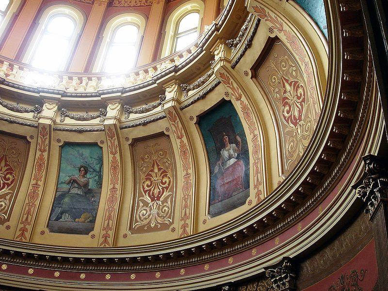 File:Michigan State Capitol Muses.jpg