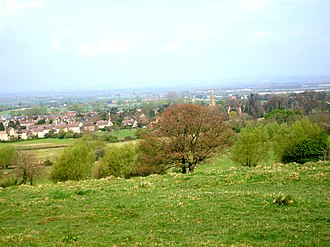 Mickleton, Gloucestershire - View over Mickleton
