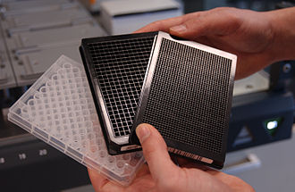 Microtiter plate - Microtiter plates with 96, 384 and 1536 wells