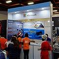 Microsoft Taiwan booth, Taipei IT Month 20171209.jpg