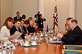 Ministru prezidents Valdis Dombrovskis tiekas ar EK viceprezidentu un Transporta lietu komisāru Sīmu Kallasu (6688538371).jpg
