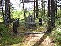 Minnessten till minne av striderna i Korpo under inbördeskriget 1918, den 28 juni 2007.JPG