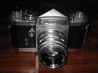 Miranda T (camera) - Image: Miranda T 01