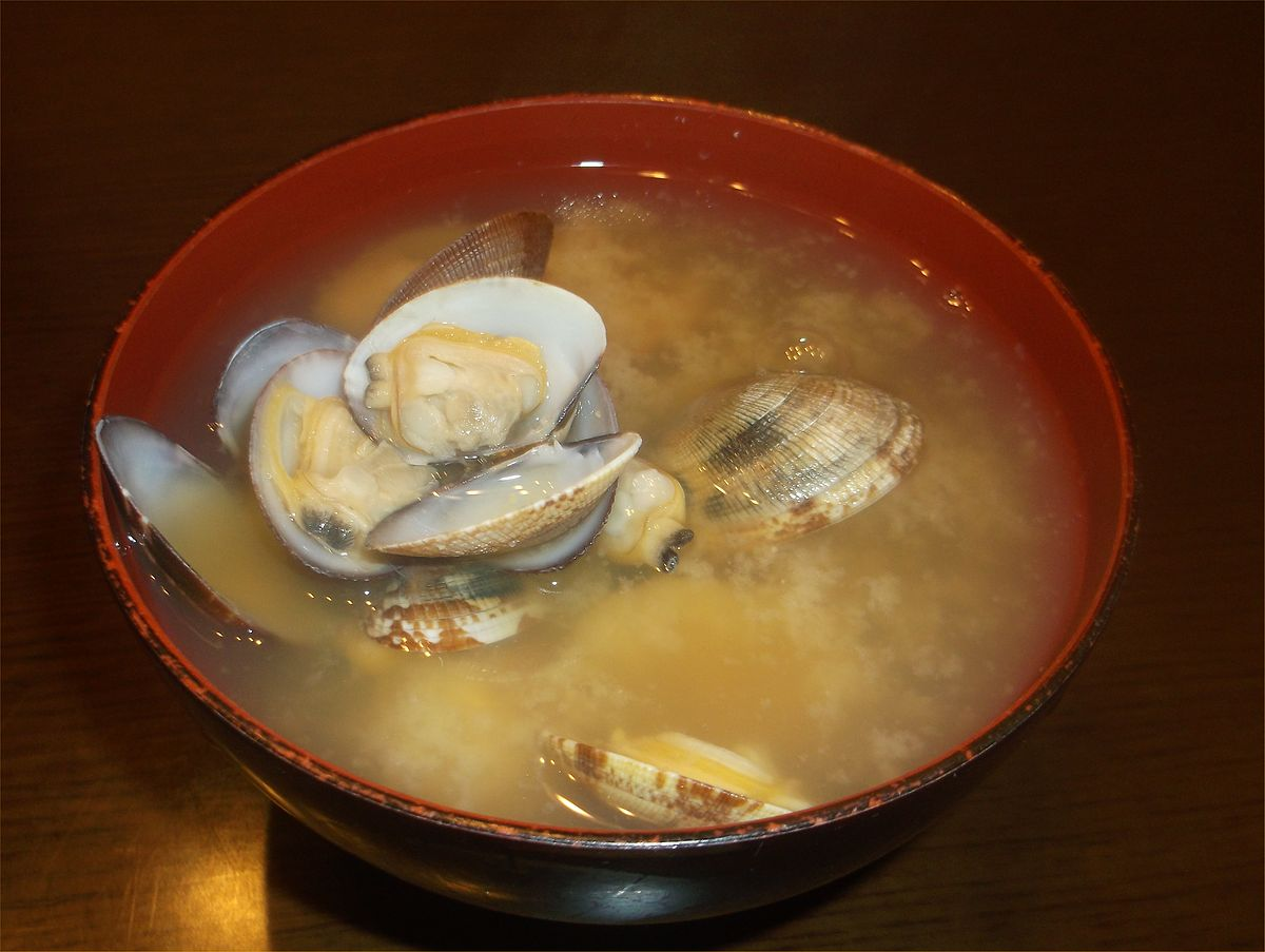 File:Miso soup of Japanese littleneck clam(asari) 2014.jpg - Wikipedia