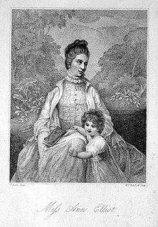 Ann Elliot Elliot, Ann (1743–1769), courtesan and actress