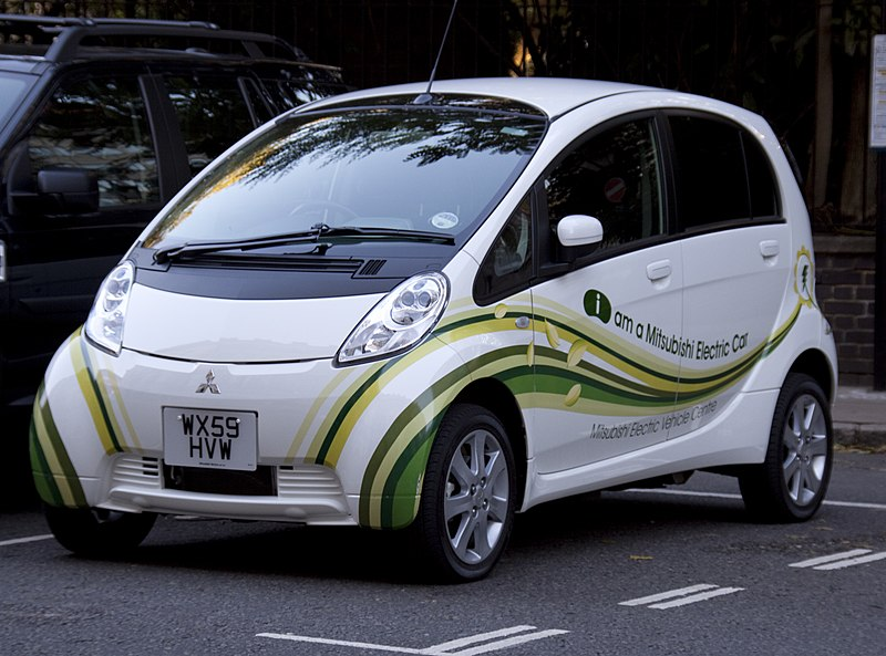 File:Mitsubishi Electric Car.jpg