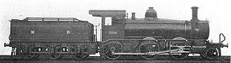 Midland Railway 2511 Class - Image: Mogul locomotive 2516 (Howden, Boys' Book of Locomotives, 1907)