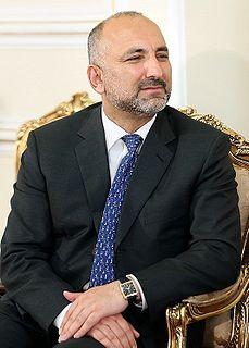 Mohammad Hanif Atmar Afghan politician