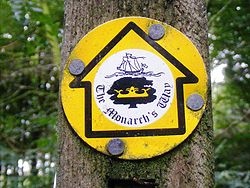 Monarch's Way sign.JPG