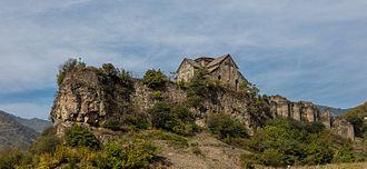 Akhtala Monastery - The monastery within the fortress walls