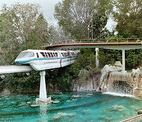 Image illustrative de l'article Disneyland Monorail