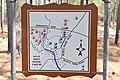 Monroe's Crossroads Battlefield Historical Marker, back side.jpg
