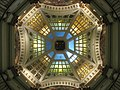 Monroe County Courthouse in Bloomington, dome interior from floor.jpg