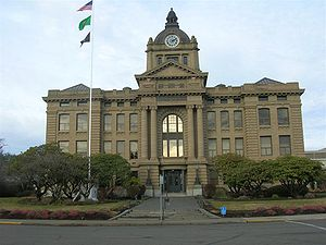Montesano courthouse