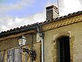 Montesquiou Génoise sous toiture.JPG