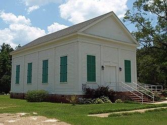 Tensaw, Alabama - Montgomery Hill Baptist Church