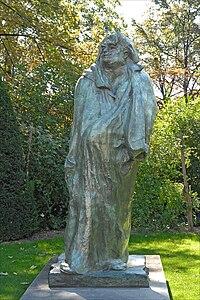 Monument à Balzac, Jardin du Musée Rodin, Paris 2010