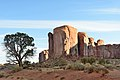 Monument Valley Arizona october 2012 sunrise view with tree.jpg