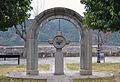 Monument als furs de Sobrarb, l'Aínsa.JPG