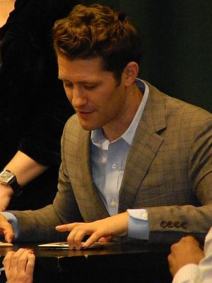 Matthew Morrison - Matthew Morrison visiting Barnes & Noble for CD release party, 2013