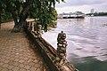Moscow, Khimki Reservoir, South Tushino embankment (21237489162).jpg