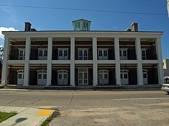 Moss Point, Mississippi - City Hall in Moss Point, Mississippi