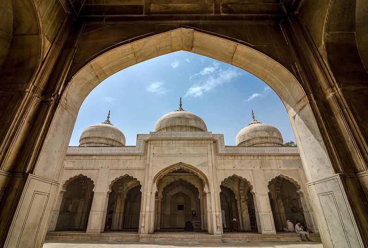 Moti Masjid (Lahore Fort) - Wikipedia