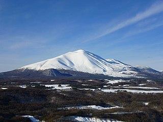 Mount Asama mountain in Nagano Prefecture, Japan