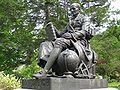 Mount Auburn Cemetery - Nathaniel Bowditch memorial by Robert Ball Hughes.jpg