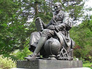 Robert Ball Hughes - Ball Hughes' statue of Nathaniel Bowditch