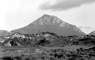 Mount Huxley (Tasmania) - Image: Mount Huxley, Tasmania approx 1977