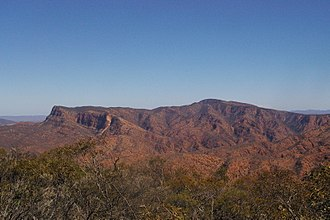Vulkathunha-Gammon Ranges National Park - Mount McKinlay from the north