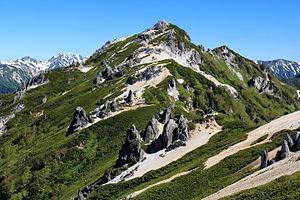 Mount Tsubakuro - Mount Tsubakuro (June 2015)