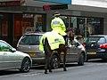 Mounted police officer, The Horsefair, Bristol - geograph.org.uk - 1167369.jpg
