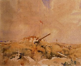 Battle of Thiepval Ridge - Image: Mouquet Farm Pozieres