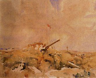 Battle of Mouquet Farm - Image: Mouquet Farm Pozieres