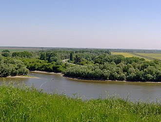 Bega (Tisza) - Image: Mouth of the Begej into the Tisa