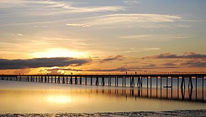 Mozambique Island Bridge - Image: Mozambique Island Bridge