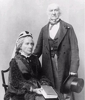 Catherine Gladstone - Catherine and William Gladstone