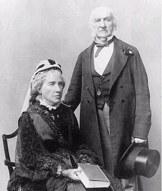 Catherine Gladstone - Catherine and William Gladstone