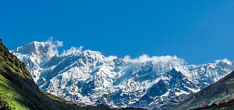 Kedarnath - Himalayan mountains range in Kedarnath, Uttarakhand
