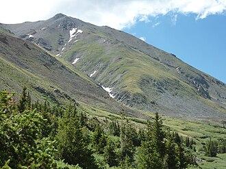 Mount Belford - Image: Mt. belford north approach