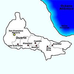 Municipalities of Duarte Province.jpg
