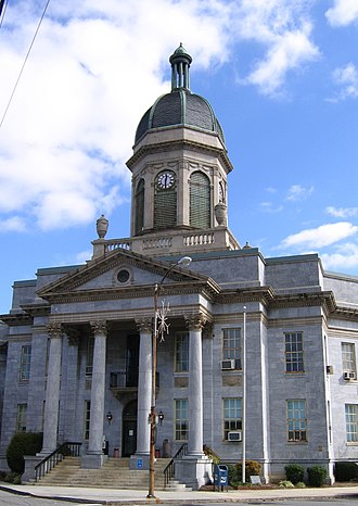 National Register of Historic Places listings in Cherokee County, North Carolina - Image: Murphy Courthouse