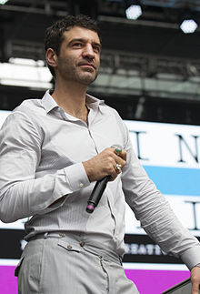 Jörn Weisbrodt at the Luminato Festival in June 2013