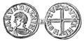 Mynt präglat av Anund Jakob Jonsson, Nordisk familjebok.png