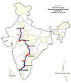 Mysore-Jaipur Express Route map.jpg