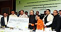 N. Chandrababu Naidu, under the Prime Minister Krishi Sinchayee Yojana, at a function, in New Delhi.jpg