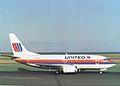 N903UA Boeing 737-522 (cn 25003 1952) United Airlines. (5906588978).jpg