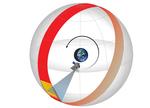 NASA space telescope SPHEREx.survey.globe3.CSR.png